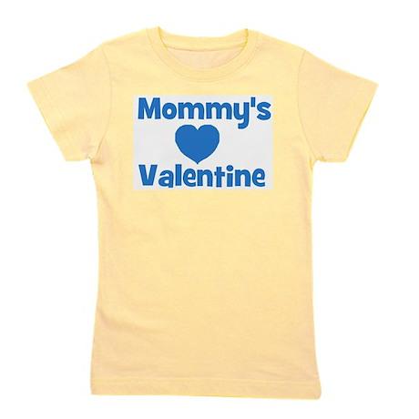 mommysvalentineblue.jpg Girl's Tee