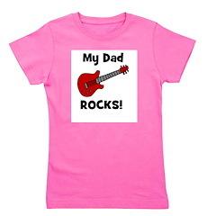 guitar_mydadrocks.jpg Girl's Tee