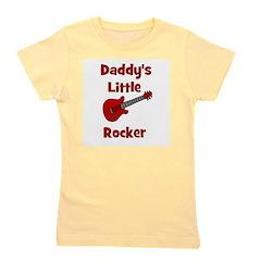 daddyslittlerocker.jpg Girl's Tee