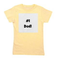 numberonedad.png Girl's Tee