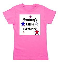 mommyslittlefirework.png Girl's Tee