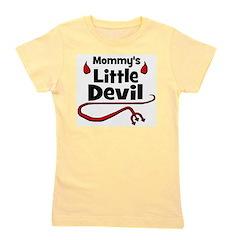 devil_mommyslittledevil.png Girl's Tee