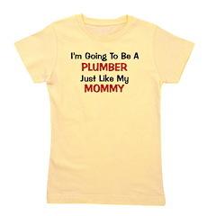 plumber_mommy.png Girl's Tee