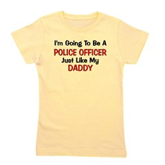 policeofficer_daddy.png Girl's Tee