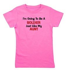 soldier_aunt.png Girl's Tee