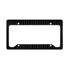 Stealth Black  License Plate Holder