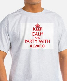 Keep Calm and Party with Alvaro T-Shirt