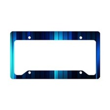 Modern Abstract  License Plate Holder