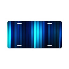 Modern Abstract  Aluminum License Plate