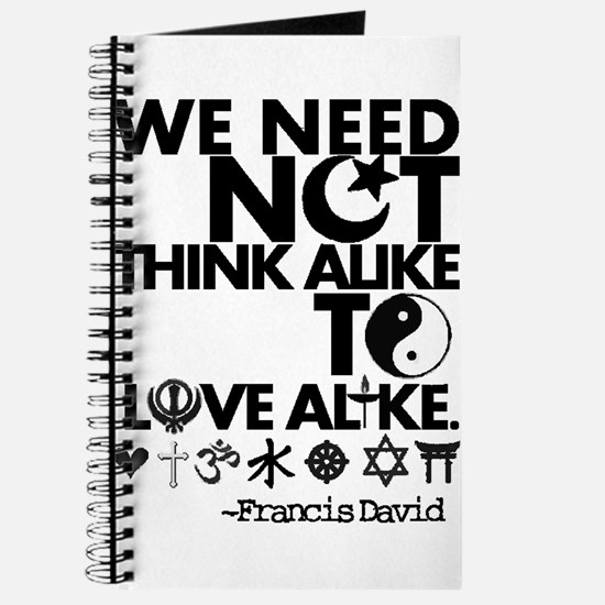 You Need Not Think Alike To Love Alike Journal