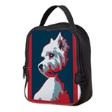 Westie Neoprene Lunch Bag