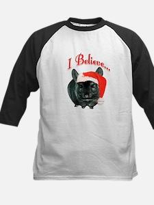 Chin I Believe (ebony) Kids Baseball Jersey
