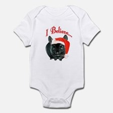 Chin I Believe (ebony) Infant Bodysuit
