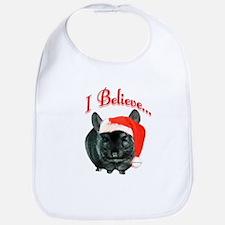Chin I Believe (ebony) Bib