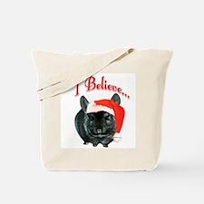 Chin I Believe (ebony) Tote Bag