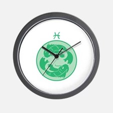 Pisces Wall Clock