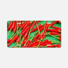 Red hot chili peppers Aluminum License Plate