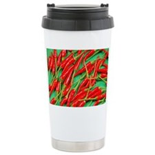 Red hot chili peppers Travel Coffee Mug
