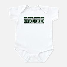 Snowboard Tahoe Infant Bodysuit