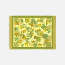 vineyard leaves tapestry 5'x7'Area Rug