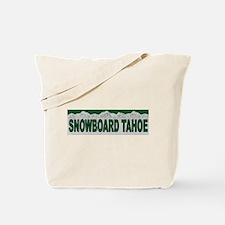 Snowboard Tahoe Tote Bag