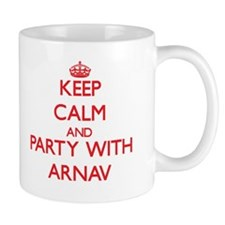 Keep Calm and Party with Arnav Mugs