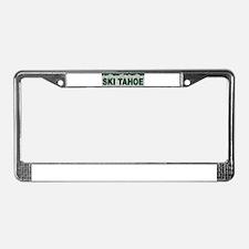 Ski Tahoe License Plate Frame