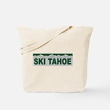 Ski Tahoe Tote Bag