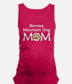Bernese Mountain Dog Mom Maternity Tank Top