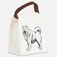 Samoyed Canvas Lunch Bag