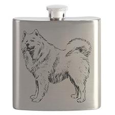 Samoyed Flask