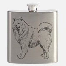Samoyed Flask
