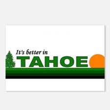 Its Better in Tahoe Postcards (Package of 8)
