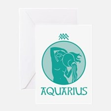 AQUARIUS Greeting Cards
