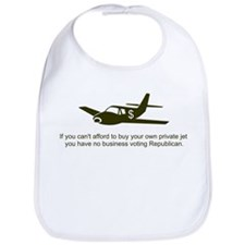 Private Jet Republican Bib
