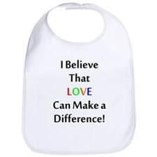 Love Can Make a Difference Bib