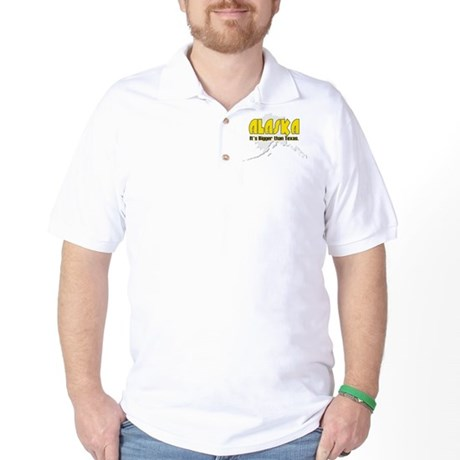 Bigger than Texas Golf Shirt