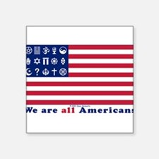 URA Flag #2 Sticker