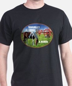 Tranquillity Is Owning A Horse T-Shirt