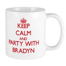 Keep Calm and Party with Bradyn Mugs