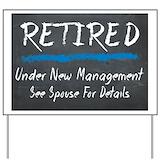 Retirement Yard Signs