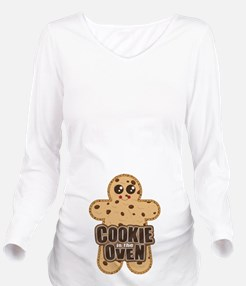 Cookie in the Oven™ Long Sleeve Maternity T-Shirt