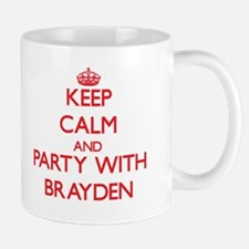Keep Calm and Party with Brayden Mugs