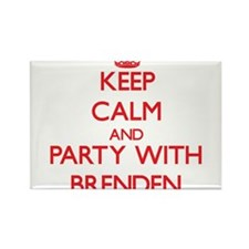 Keep Calm and Party with Brenden Magnets