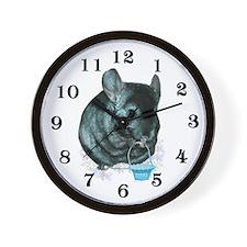 Chinny Basket Wall Clock