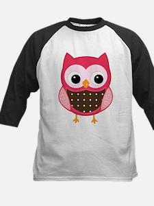 pink owl Baseball Jersey