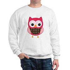 pink owl Sweatshirt