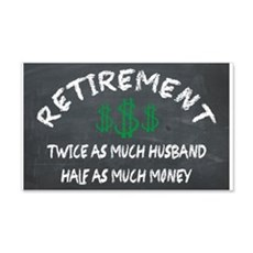 RETIREMENT. HALF AS MUCH MONEY ON THE CHALKBOARD 2