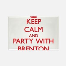 Keep Calm and Party with Brenton Magnets