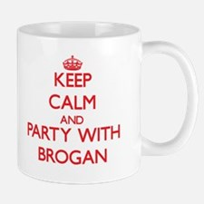 Keep Calm and Party with Brogan Mugs